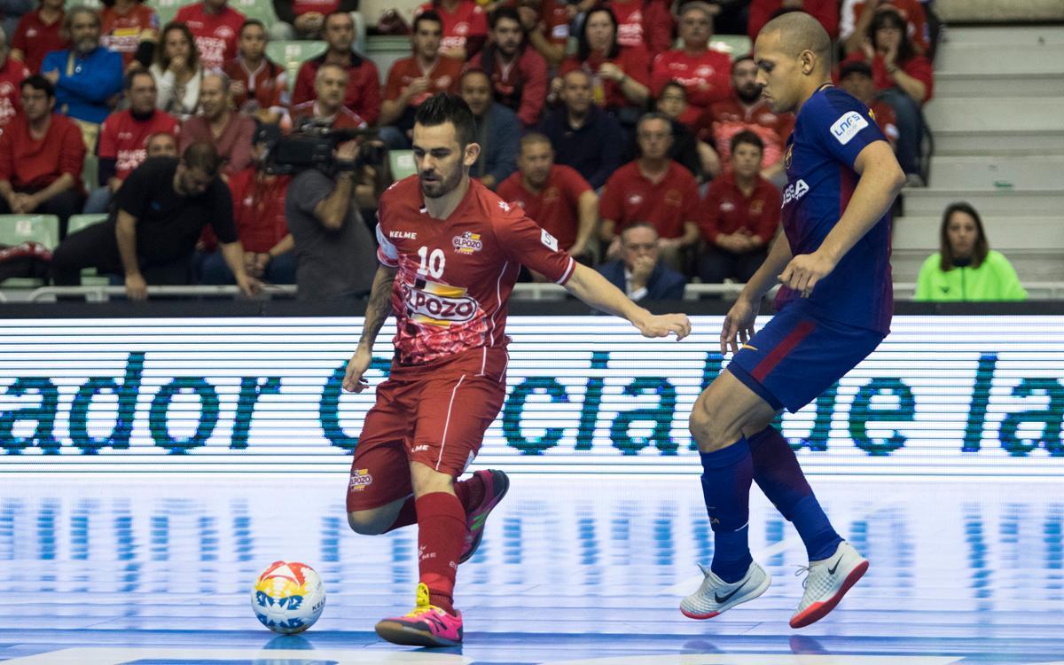 ElPozo Murcia - Barça Lassa: La falta de acierto condena a los azulgrana (3-1)