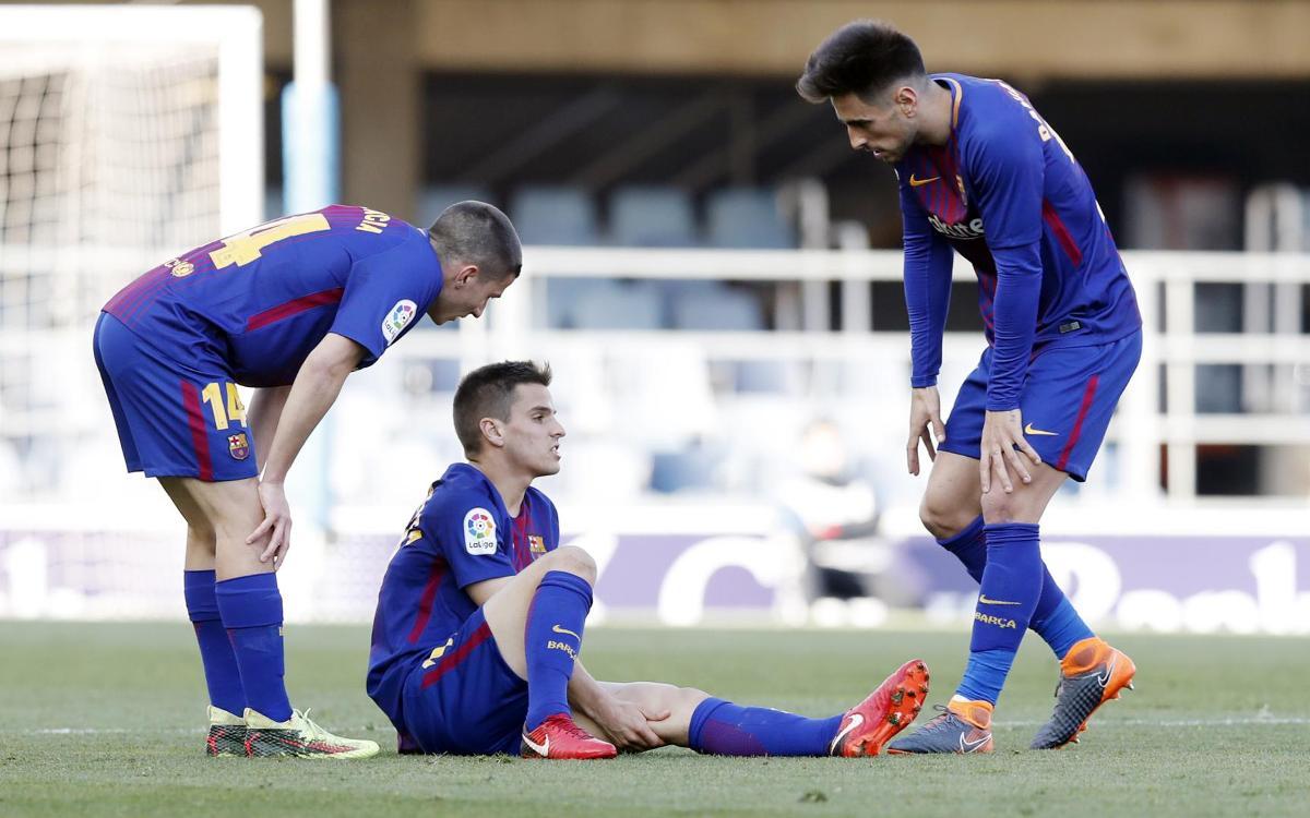 Ruiz de Galarreta, lesionat a la cuixa esquerra