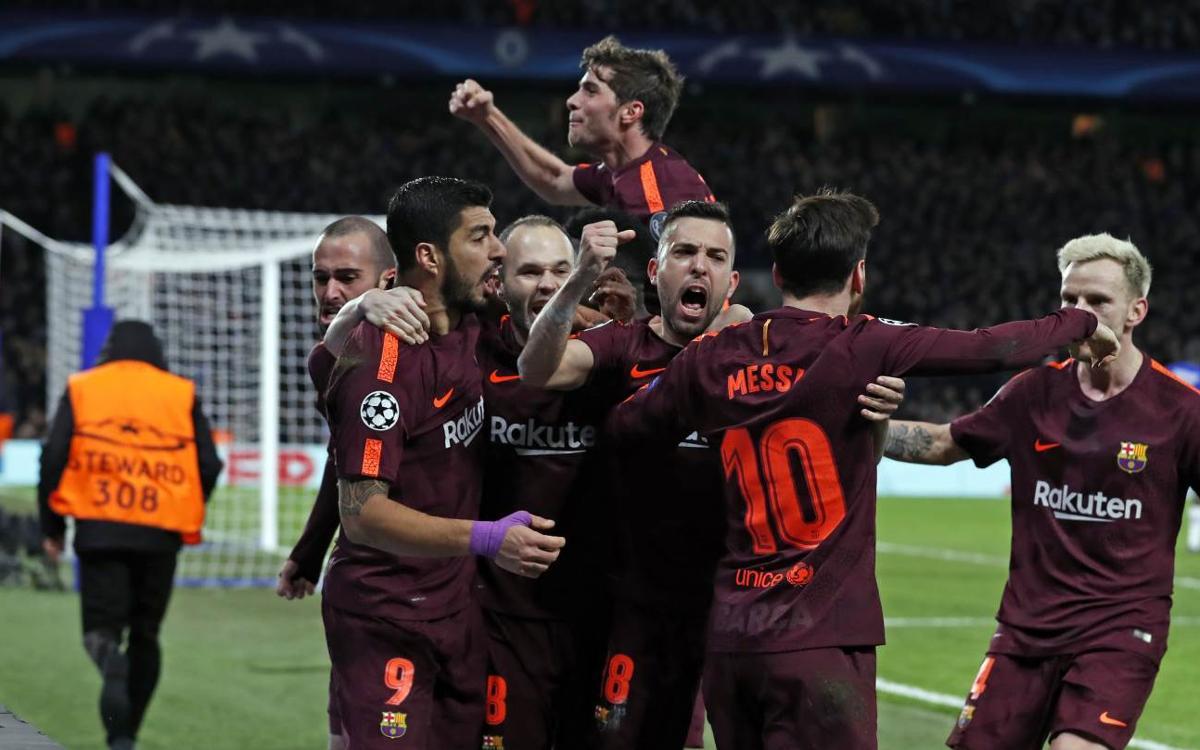 HIGHLIGHTS: Chelsea 1, Barça 1