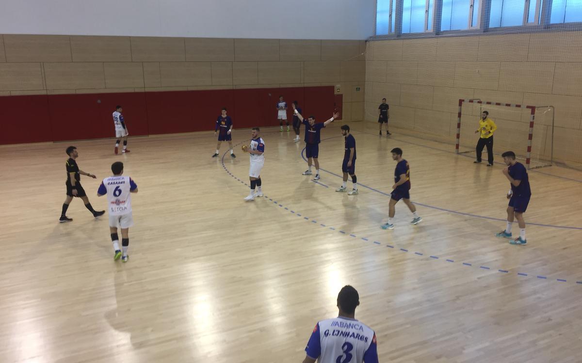 Barça Lassa B – Cisne Colegio Los Sauces (29-23): Triomf de mèrit