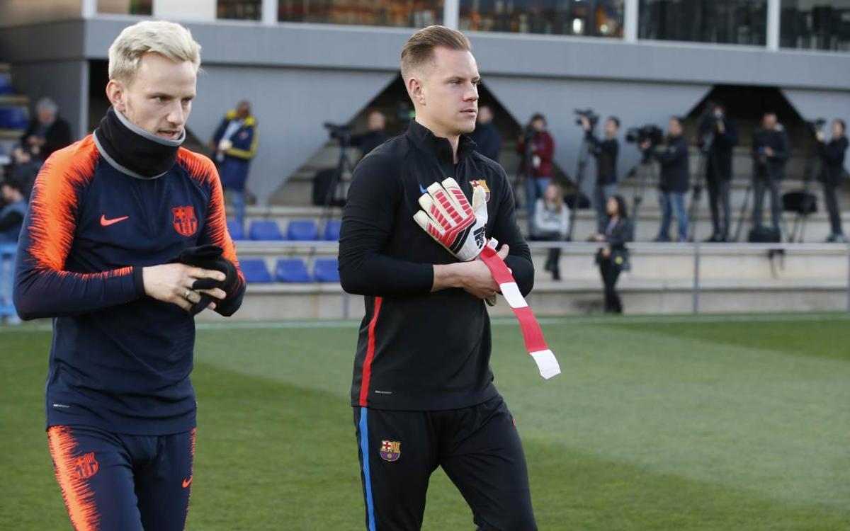 Vidéo - Le groupe du FC Barcelone convoqué pour recevoir Gérone