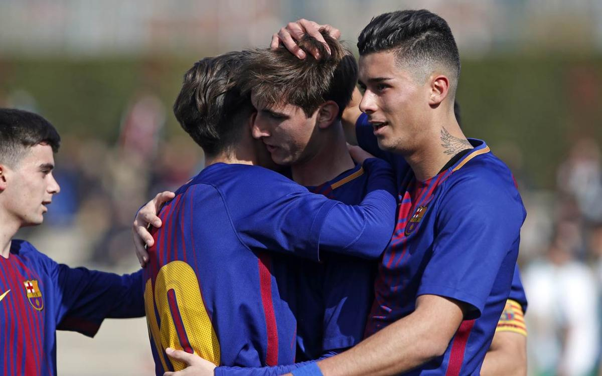 Juvenil A - El Olivar: Eficàcia golejadora (5-0)