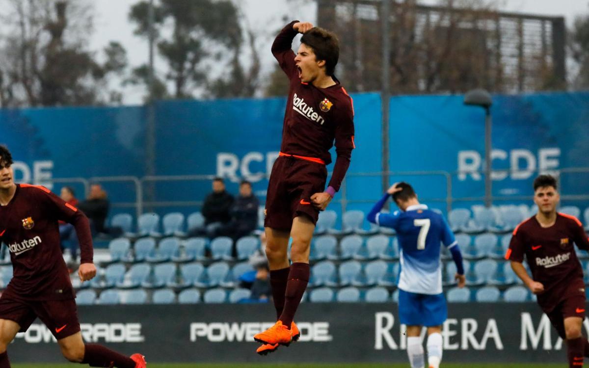 RCD Espanyol – Juvenil A: Dominio sin premio (1-1)