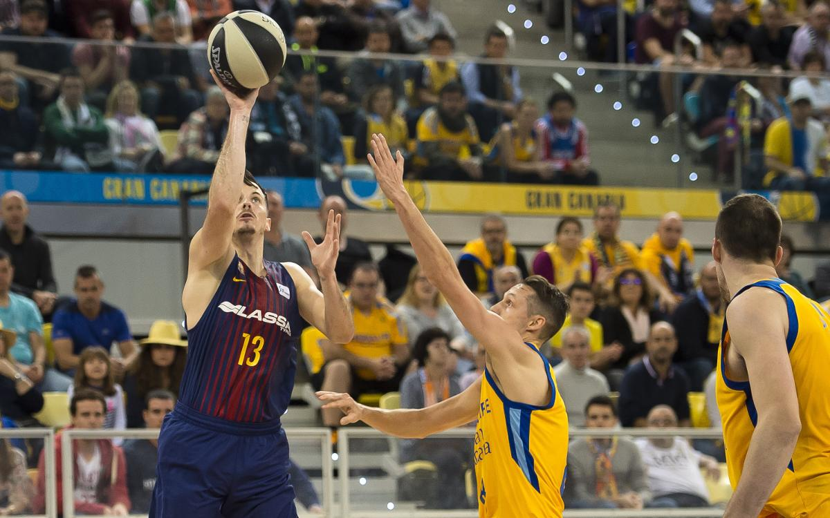 Herbalife Gran Canaria - Barça Lassa: In the cup final! (74-87)