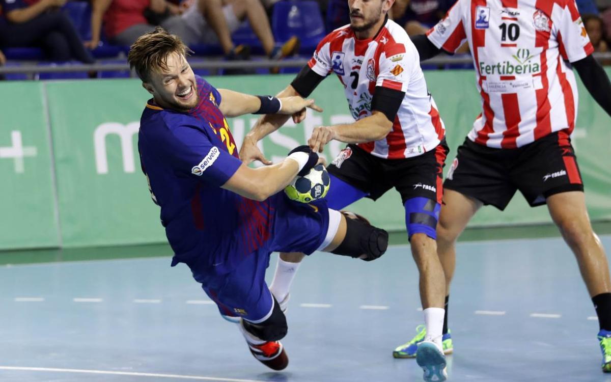 Fertiberia Puerto Sagunto – Barça Lassa: Vuelve la Liga Asobal bajo mínimos