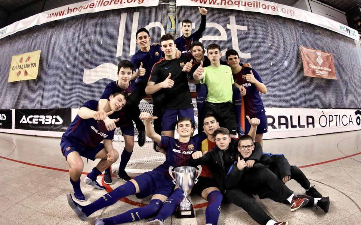 Campeones de la Mini Copa de Hockey Patines
