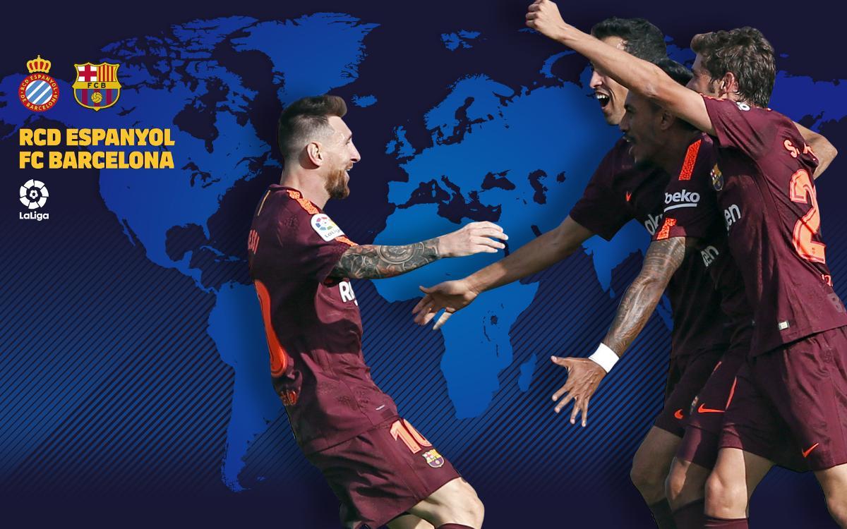 Où et quand voir Espanyol - FC Barcelone, en Liga