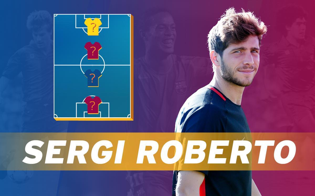 My Top 4: Sergi Roberto nos descubre a sus ídolos