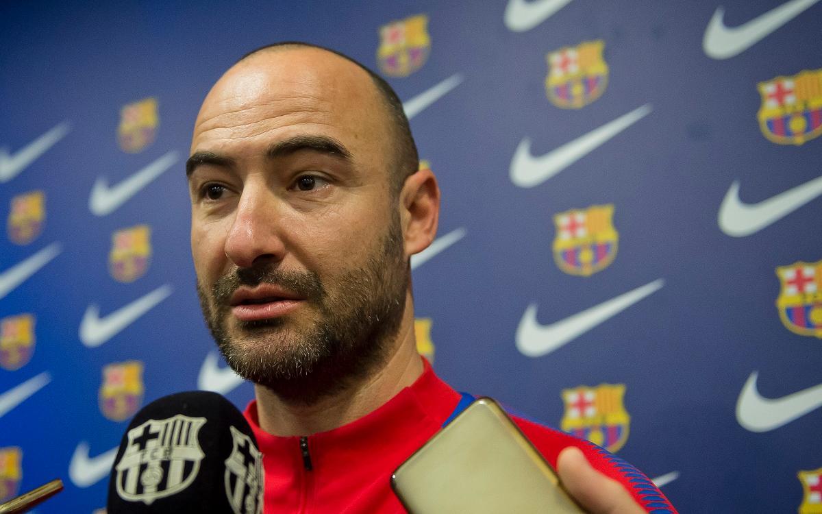 """Fran Sánchez: """"El partit és força diferent del que vam tenir aquí"""""""