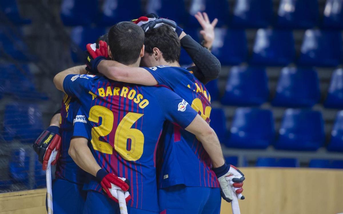 Barça Lassa-Recam Láser Caldes: Goleada de líder (7-2)