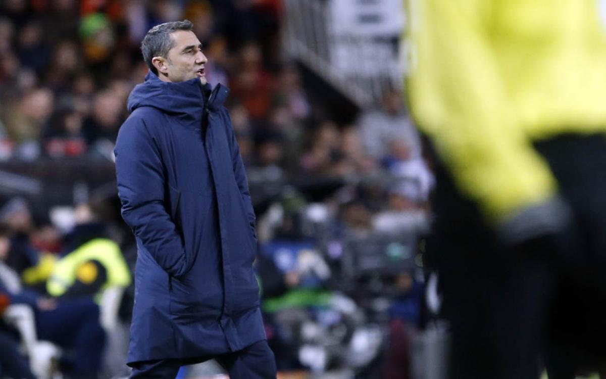 Ernesto Valverde: 'We deserve it'