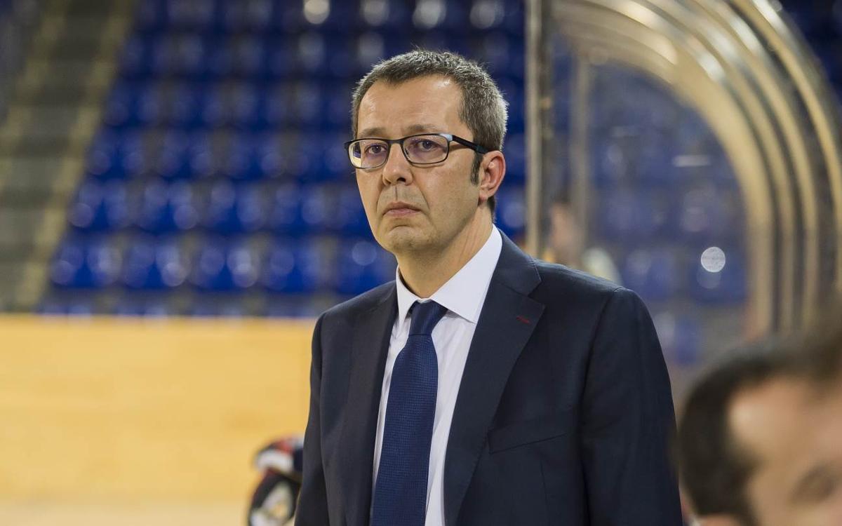 Edu Castro será entrenador del Barça Lassa una temporada más