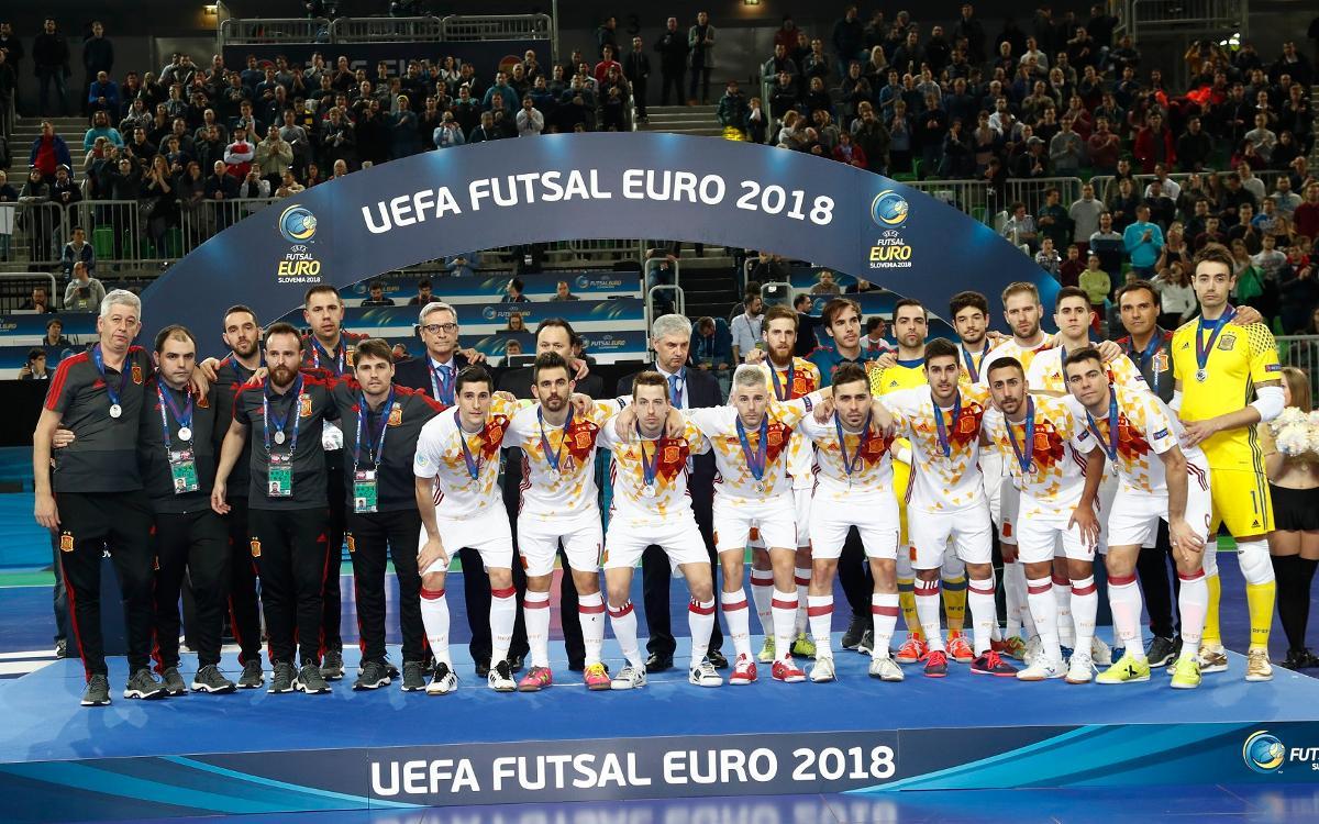 Cinco medallas de plata y un bronce, el botín del Europeo