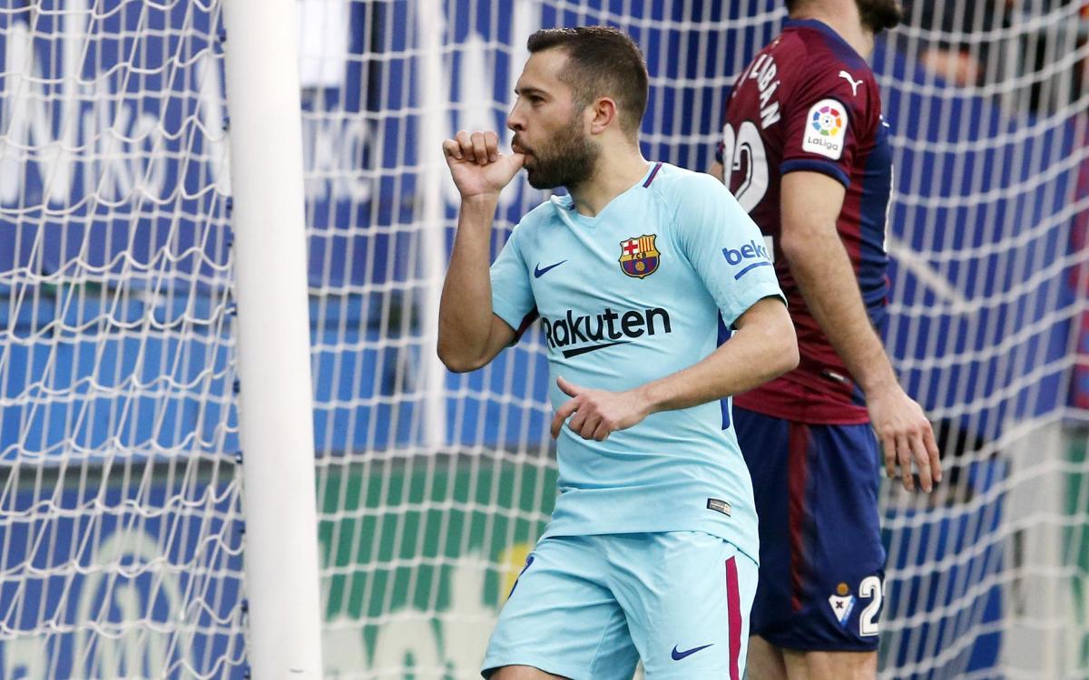 Highlights of Eibar 0-2 FC Barcelona at Ipurua