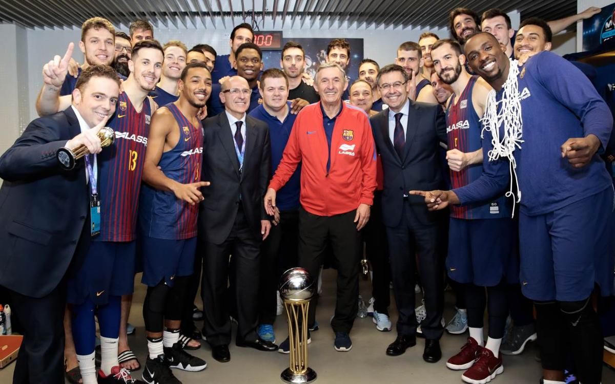 El Barça Lassa logra su Copa del Rey número 24
