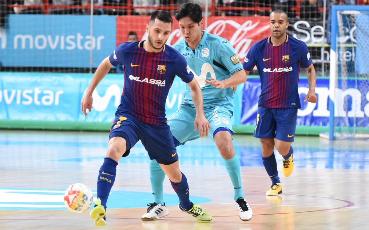 Movistar Inter – Barça Lassa: A show of character (4-4)