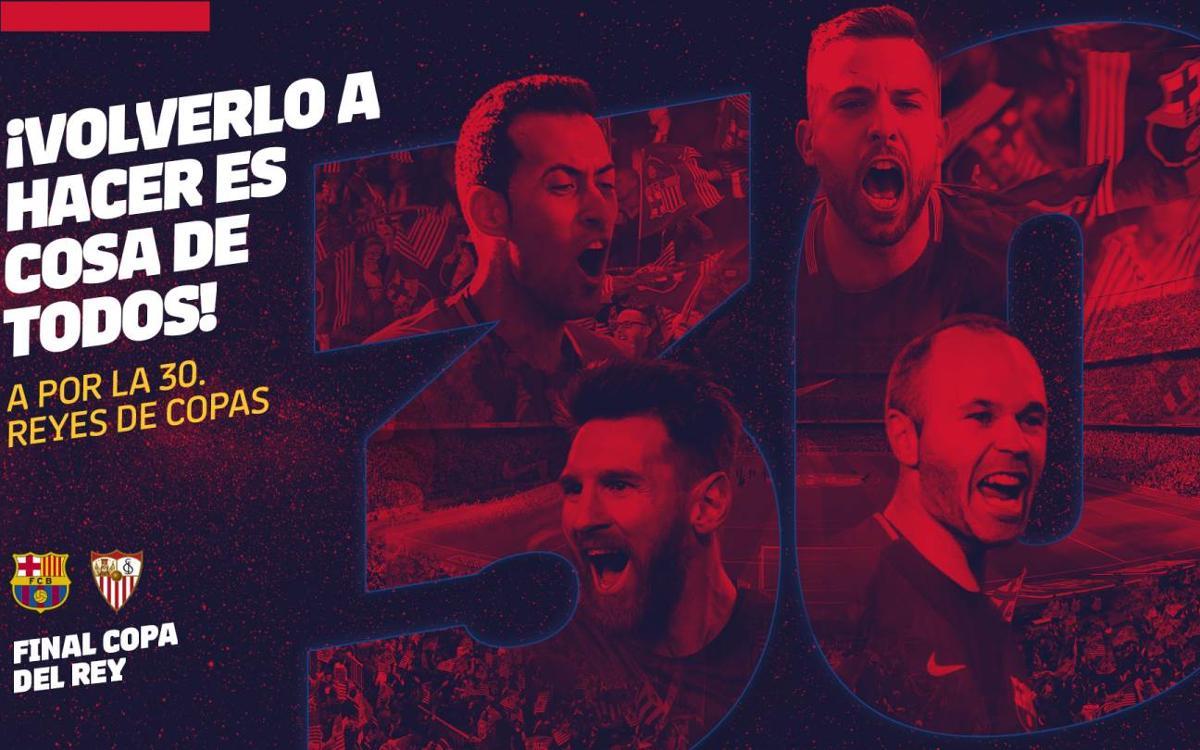 La final de Copa, el 21 de abril