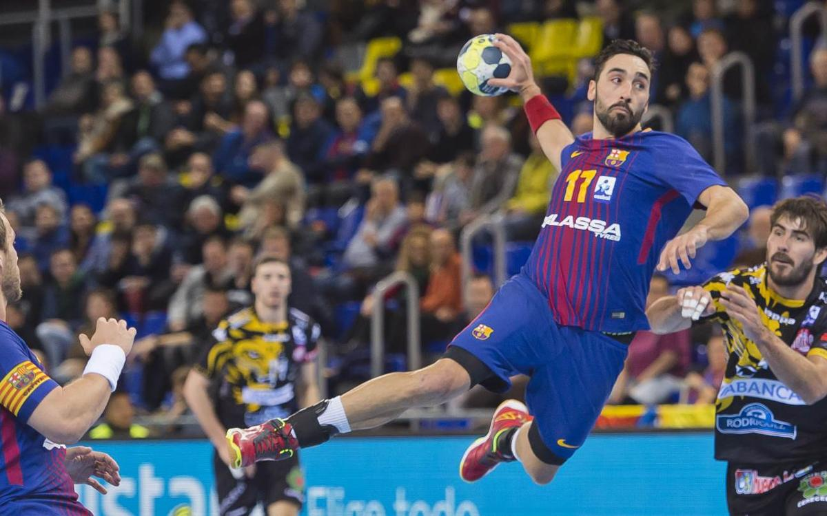 Barça Lassa - Ademar León: A win with authority at the Palau (28-20)