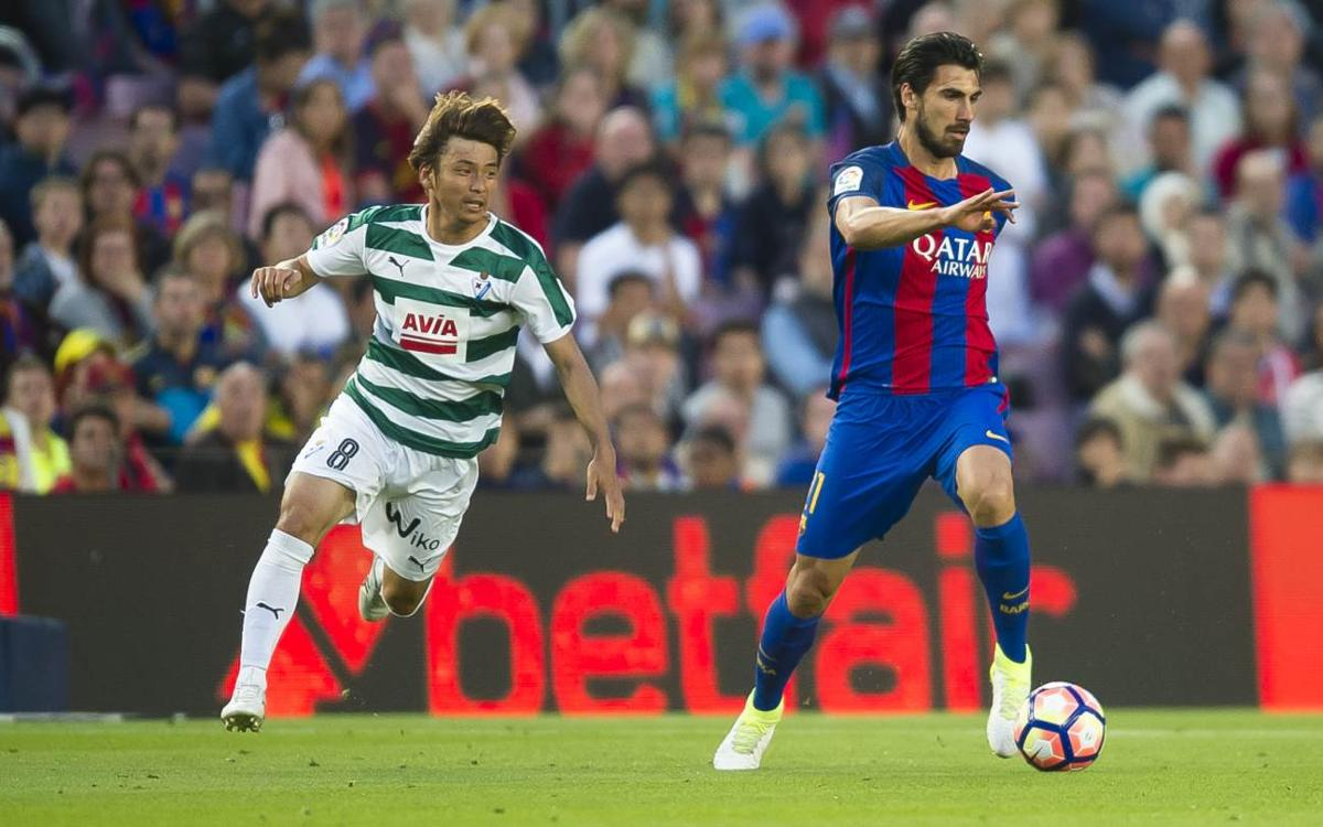 FCバルセロナ対乾