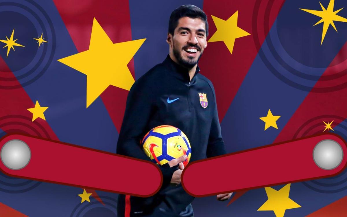 Vidéo - Luis Suárez : Le 'Pistolero' sort toujours vainqueur