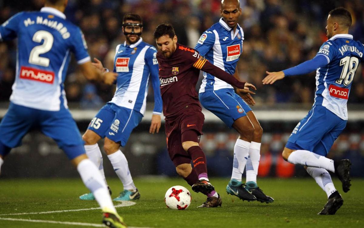 RCD Espanyol - FC Barcelona: Un nuevo derbi para seguir invictos