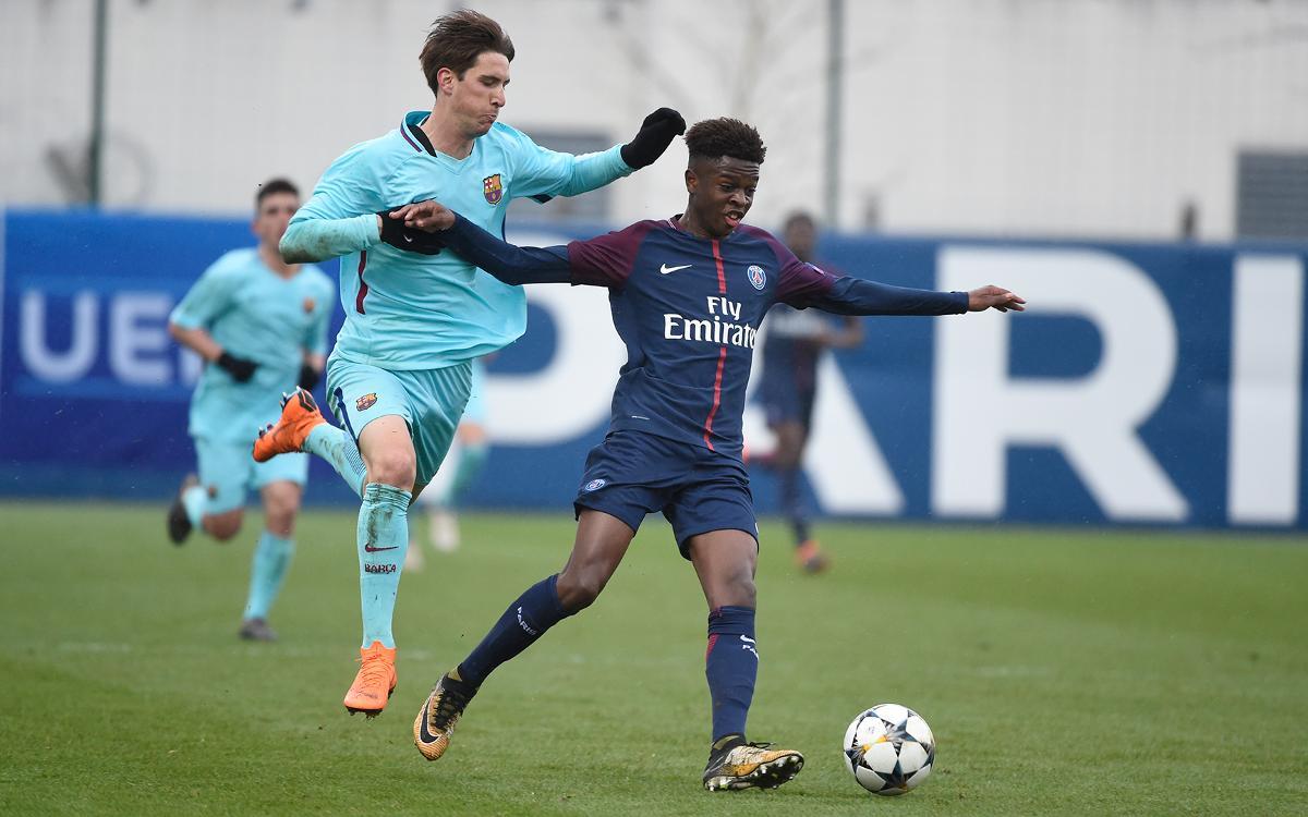 Barça U-19s beat PSG, qualify for UEFA Youth League quarterfinals