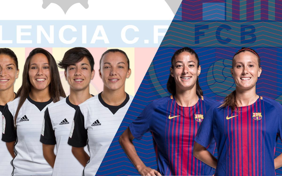 Valencia y Barça, permanentemente conectados