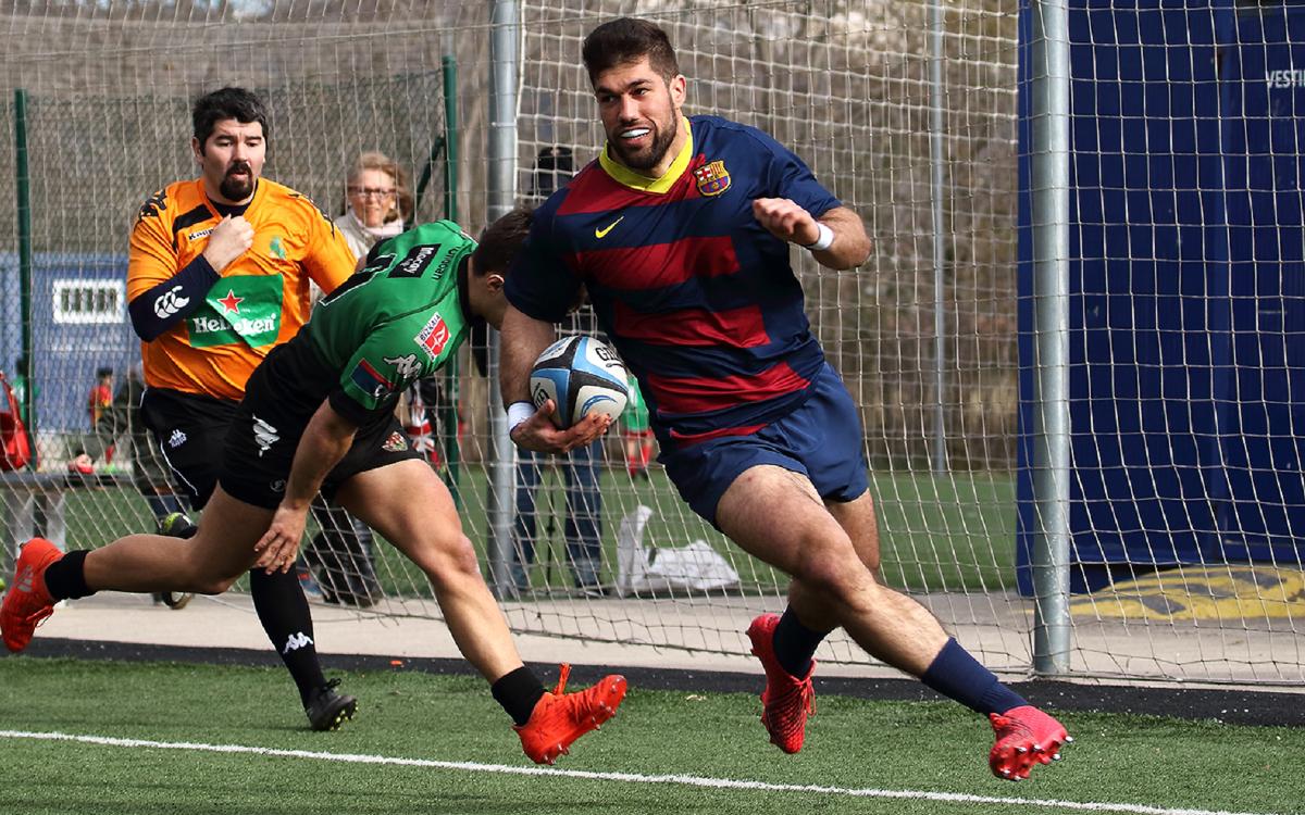 El Barça se enfrenta al Senor Independiente Rugby tras el parón de selecciones