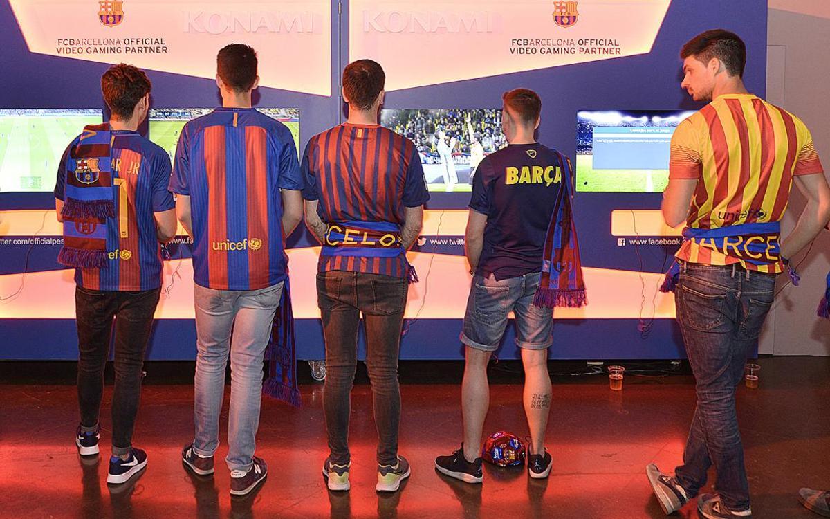 FCバルセロナがeスポーツの大会に参加