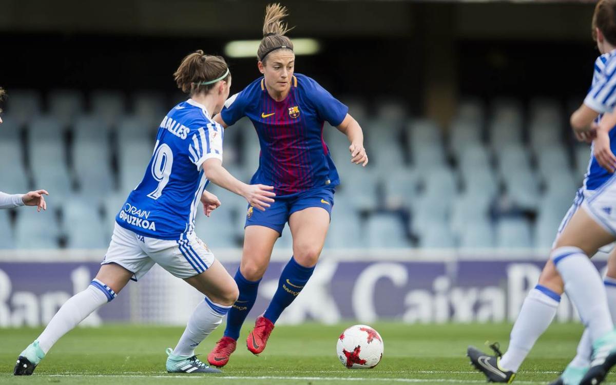 FC Barcelona Femení - Reial Societat: Setge ofensiu sense premi (0-0)