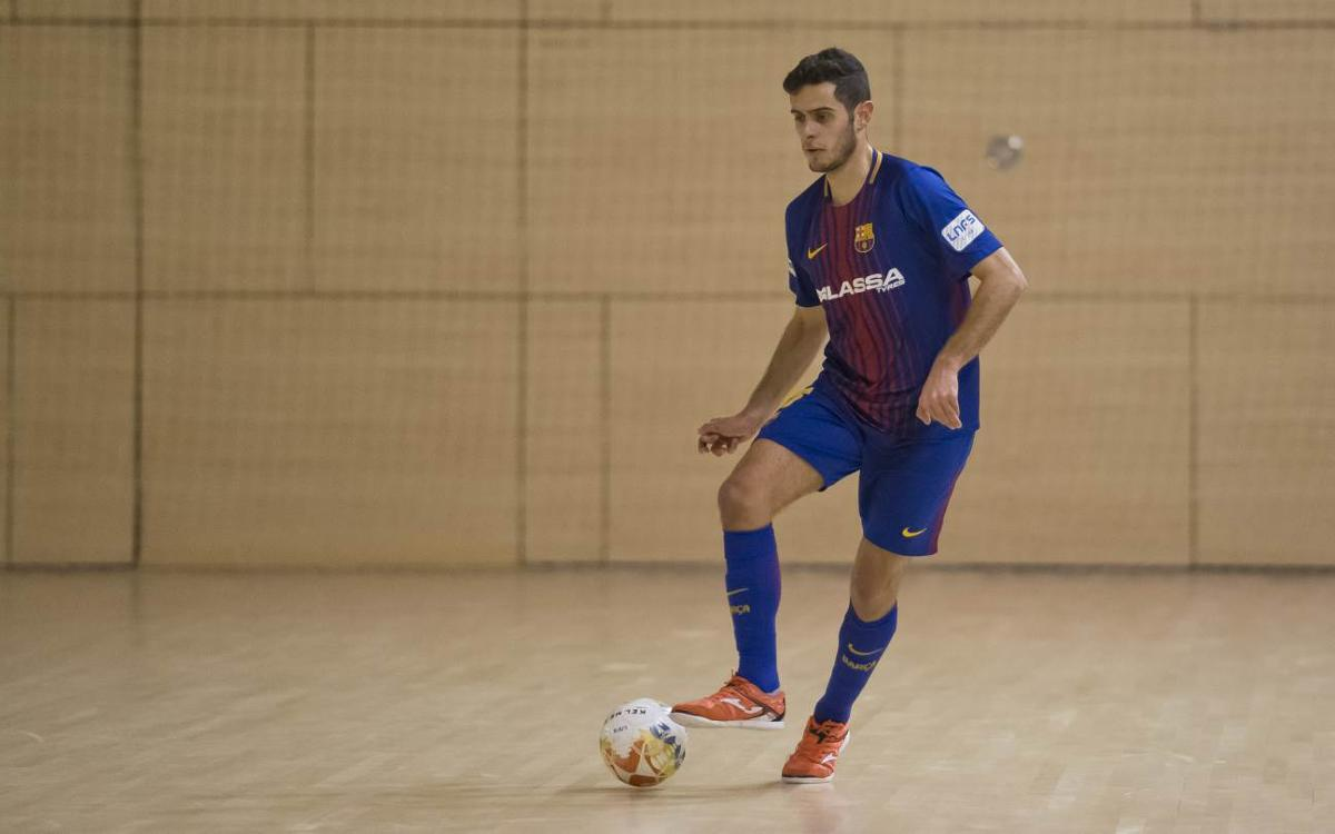 Manzanares FS - Barça Lassa B (4-0): La primera parte resulta decisiva