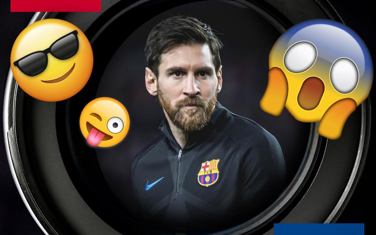 Leo Messi puts on a show — this time in training!