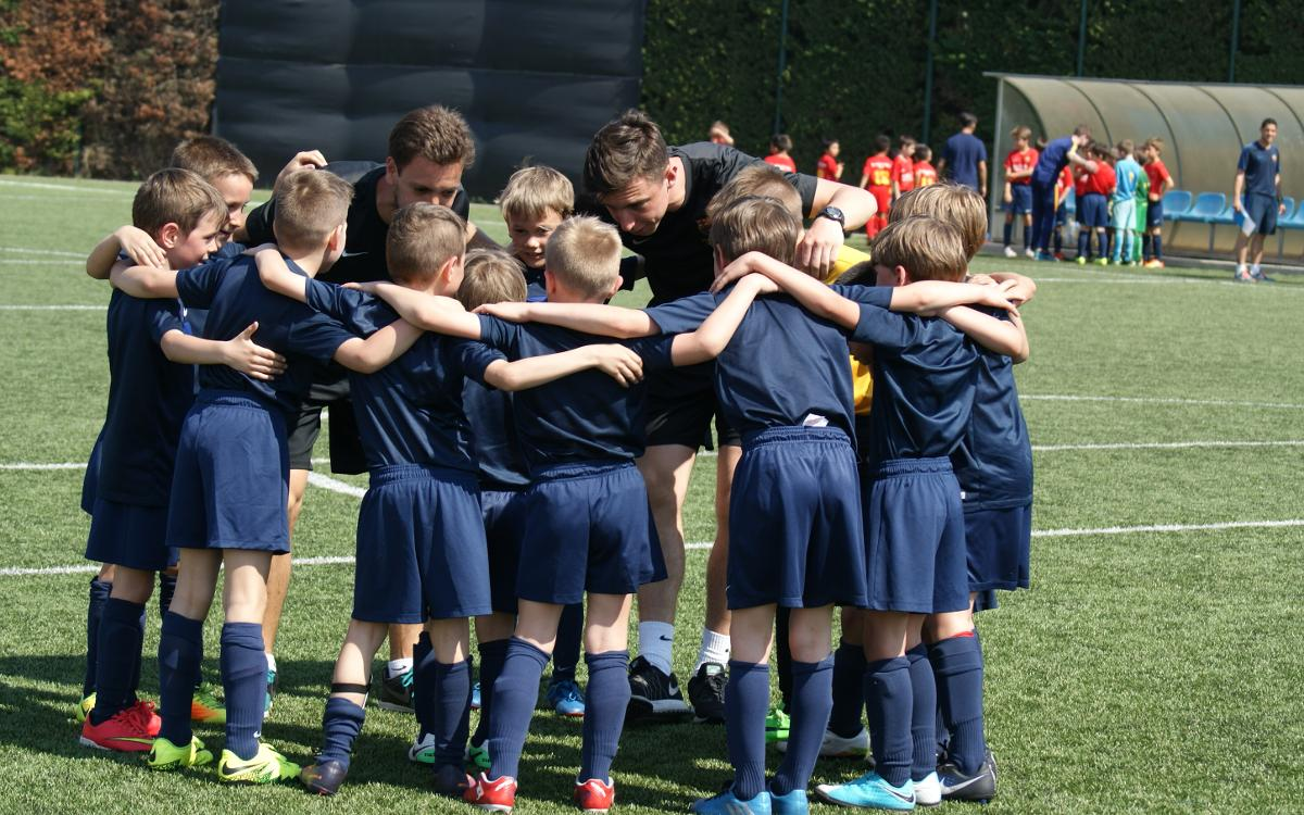 FCBEscola Warsaw teams shine in first season in Polish competition
