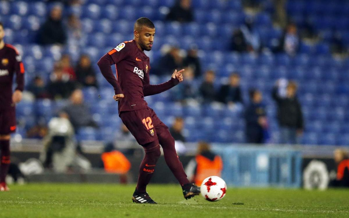 Barça sends Rafinha on loan to Inter Milan