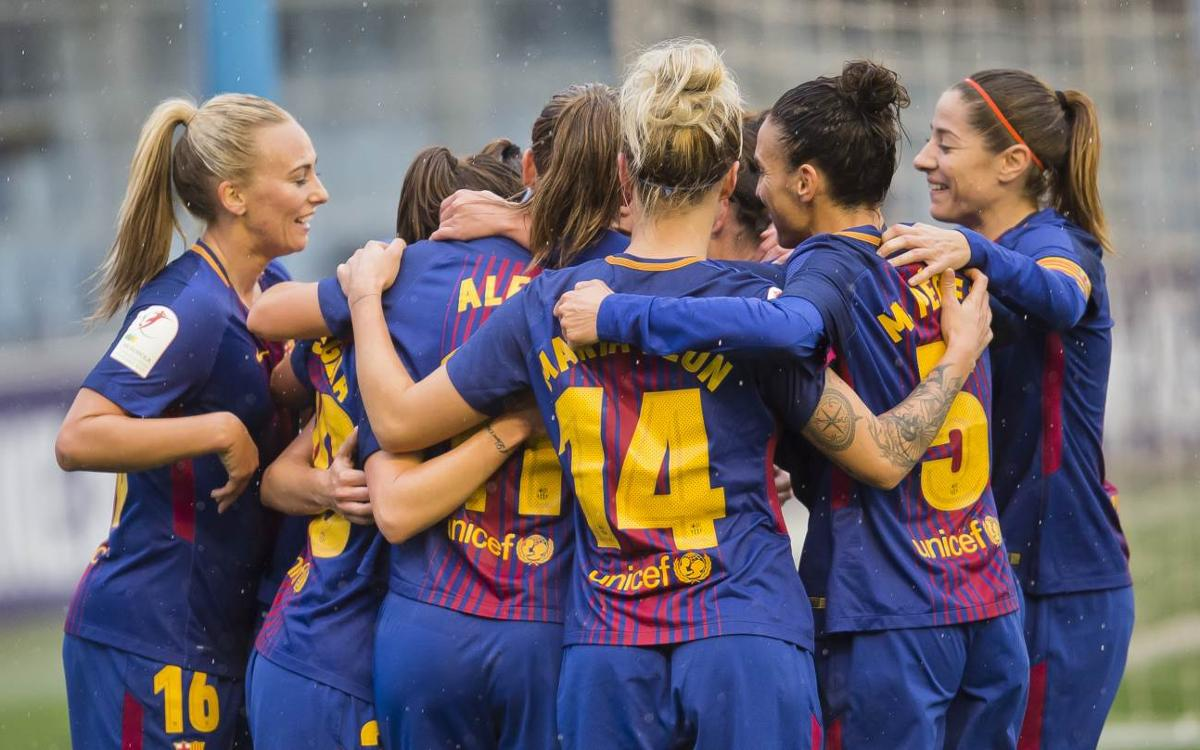 FC Barcelona Women – Levante UD: Big win to top table at half way point (5-0)
