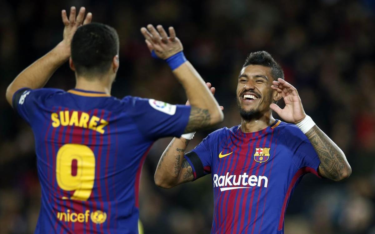 FC Barcelona 4-0 Deportivo: Winter wonderland