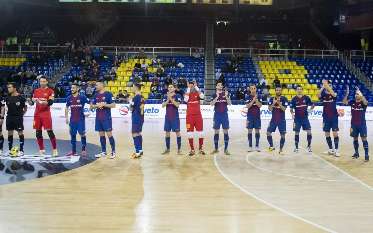 El Barça Lassa disputará dos amistosos durante el parón