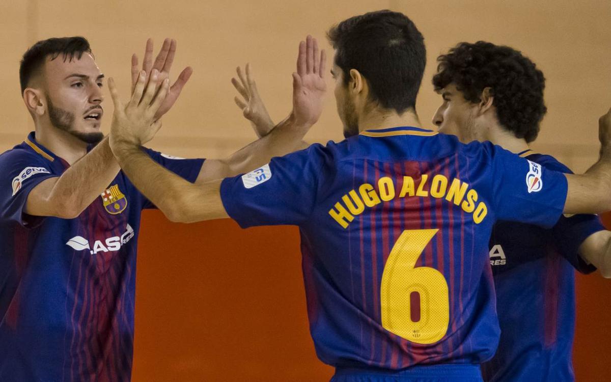 Barça Lassa B – Elche CF (4-0): Solvència ofensiva i disciplina defensiva