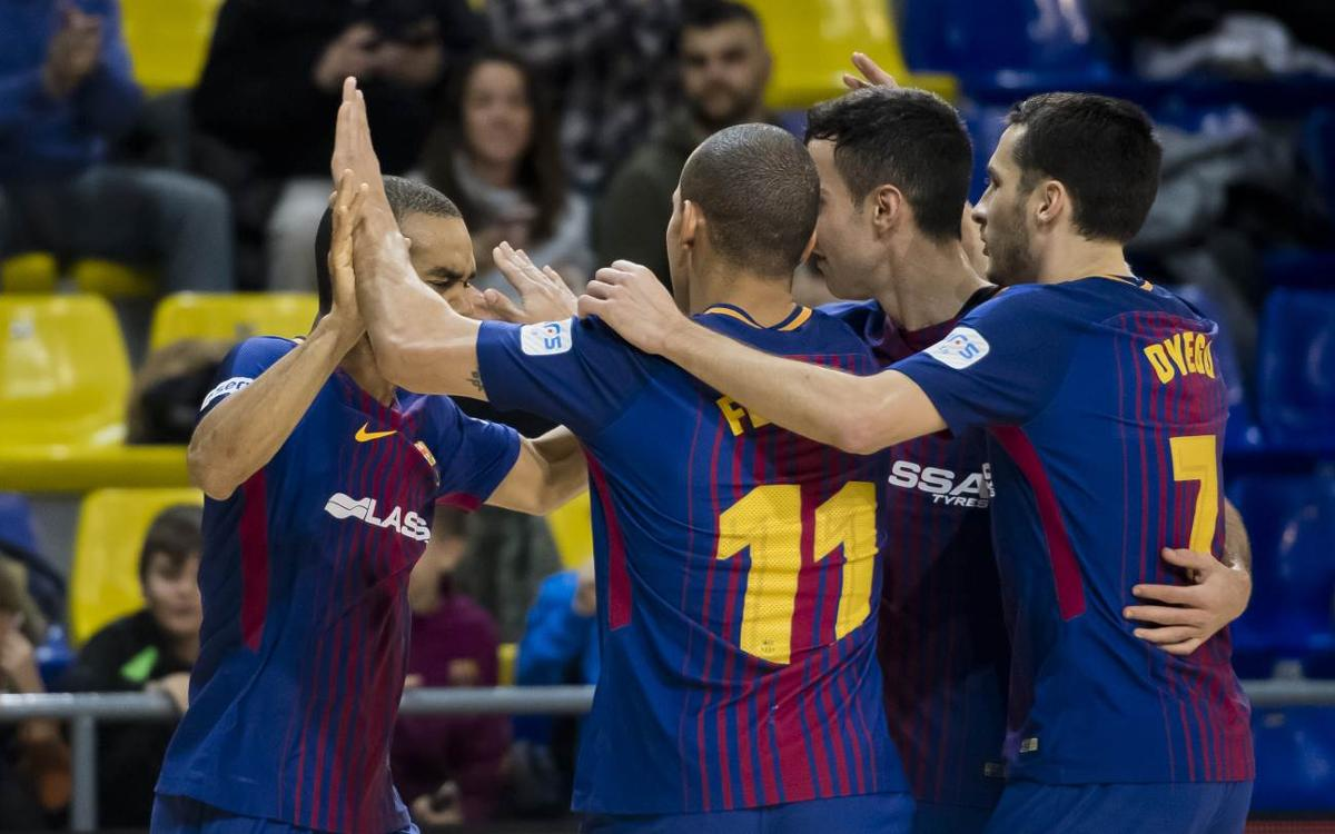 Barça Lassa – O Parrulo: Good win before break (6-2)
