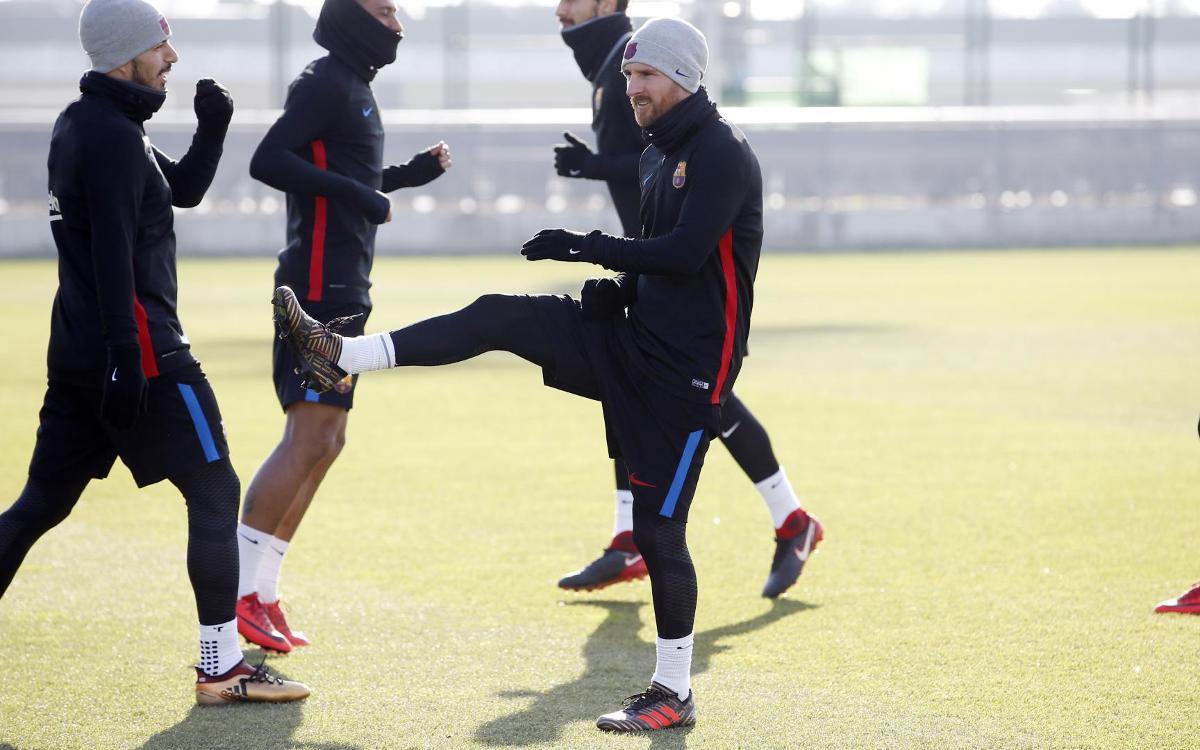 Vidéo - Le groupe du FC Barcelone convoqué pour le Clasico