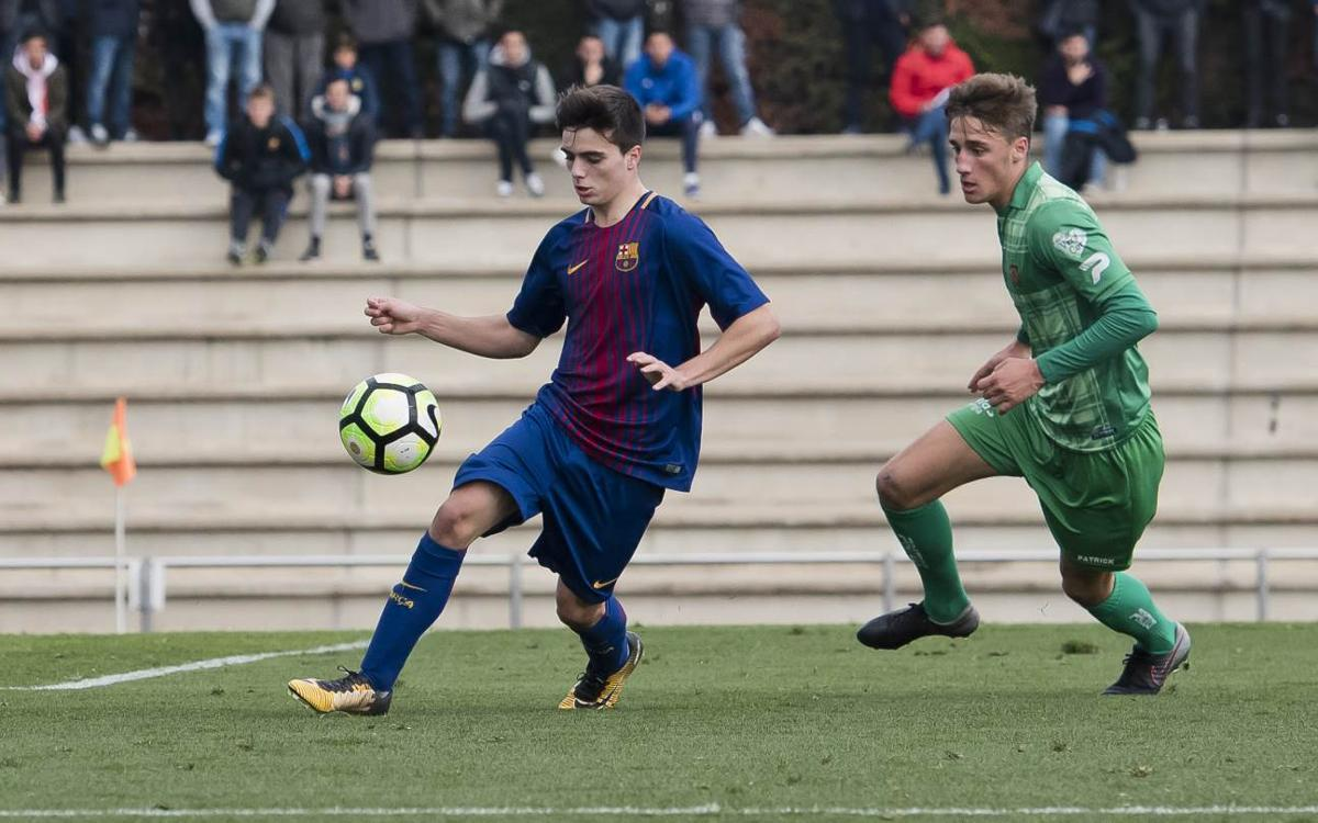 FC Barcelona U19A - Cornellá: A draw at home (1-1)