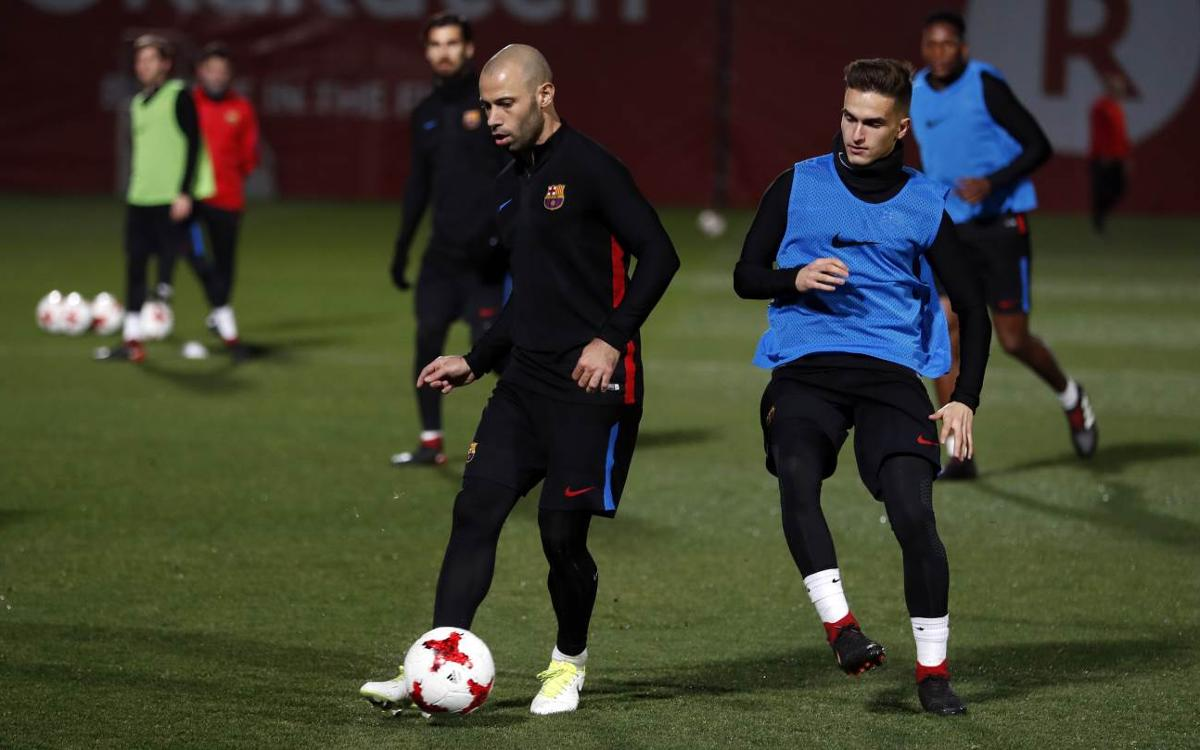 Mascherano and Iniesta out of Espanyol clash