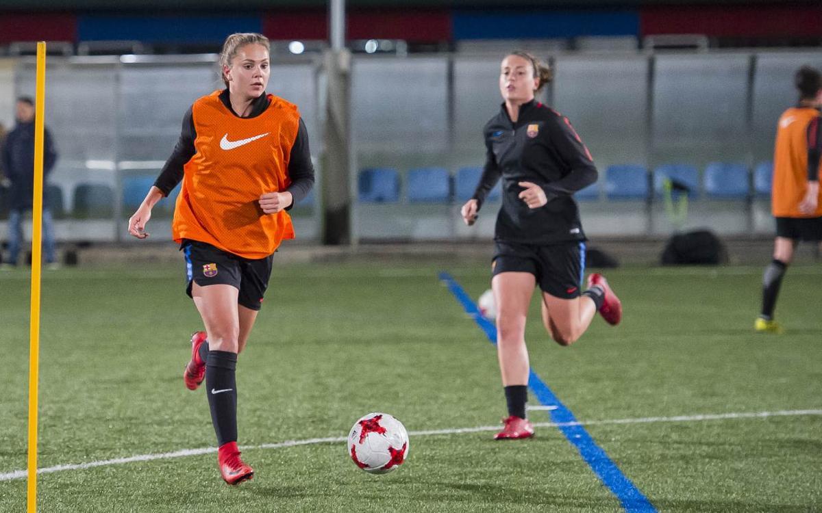 El Barça Femenino vuelve a la actividad