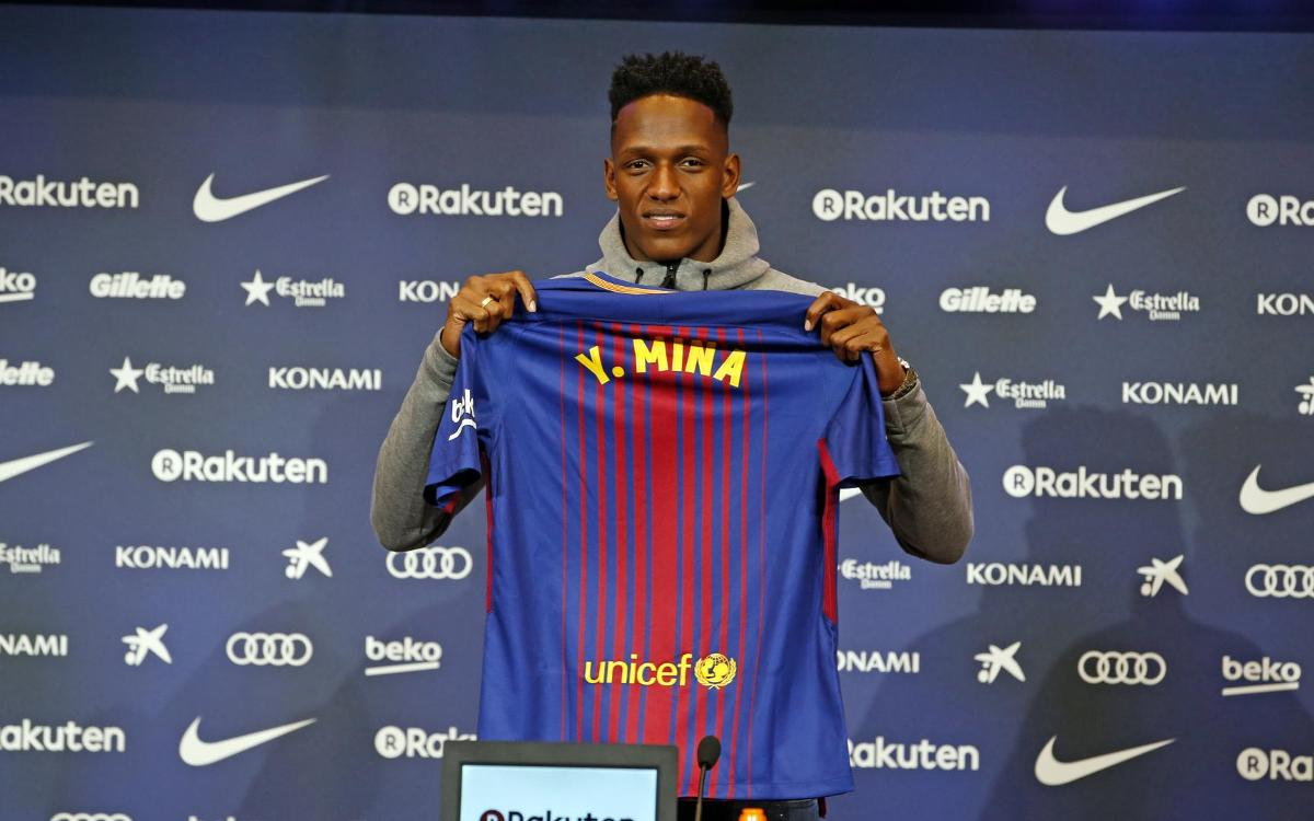 Yerry Mina ready to 'learn from the best'