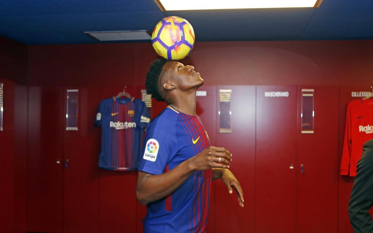 El test futbolístico de Yerry Mina