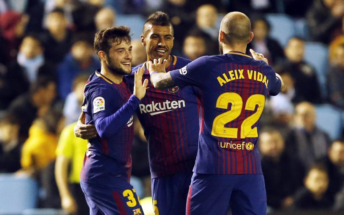 Celta - FC Barcelona: Todo por decidir (1-1)