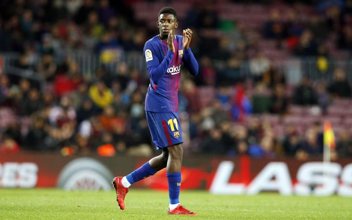 El seguiment del retorn de Dembélé al Camp Nou, des de dins