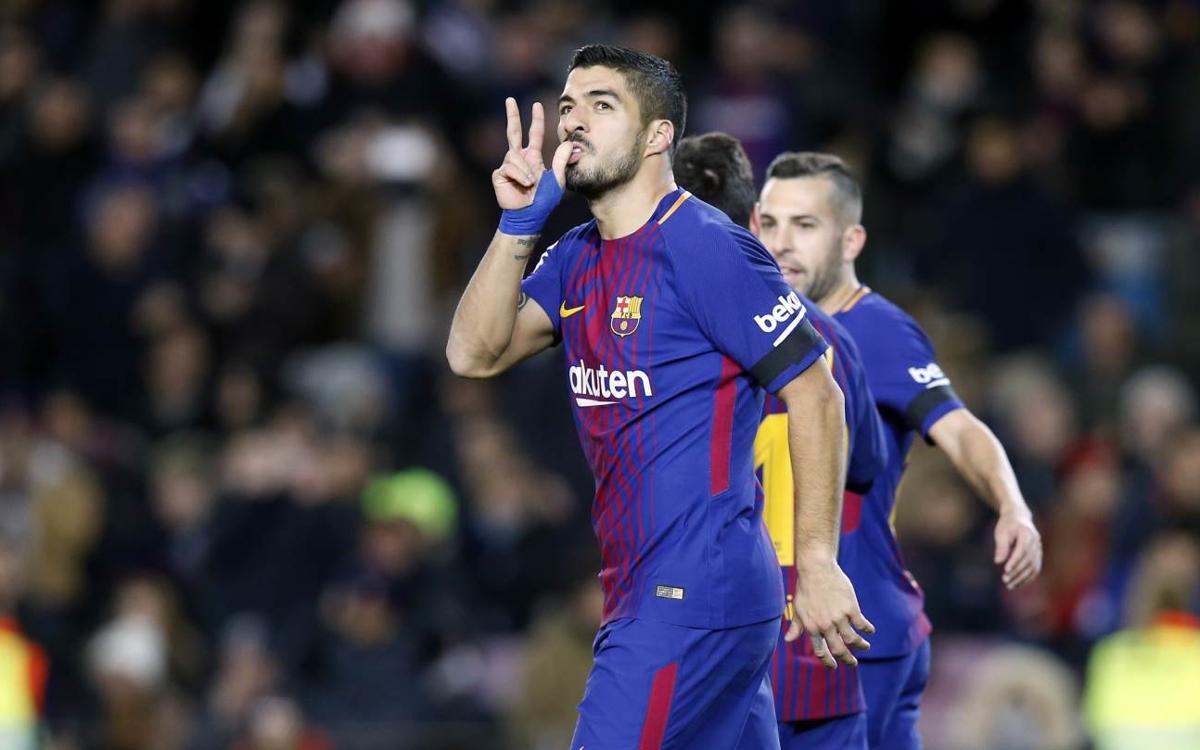 El resum del triomf contra el Deportivo, amb doblets de Suárez i Paulinho