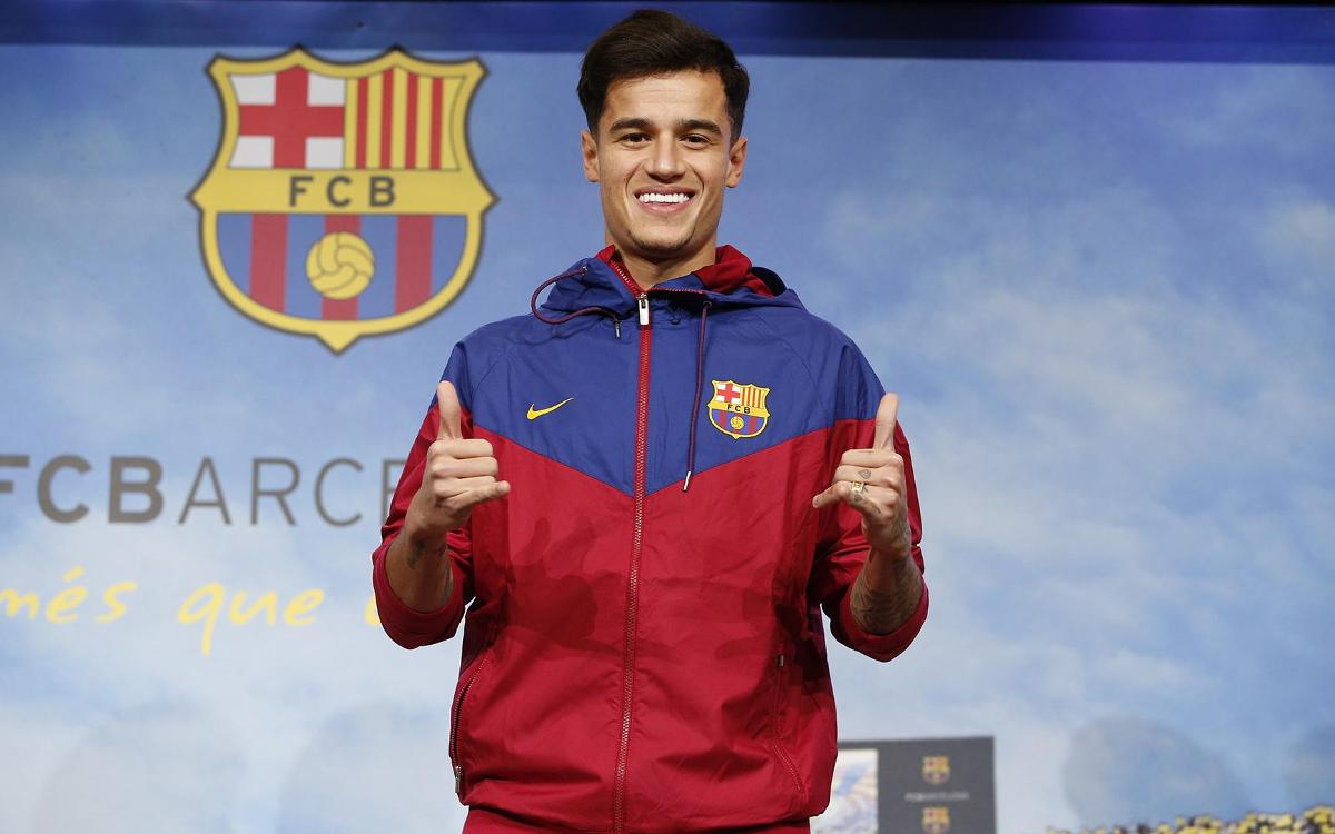 Coutinho: 'It is a dream come true to be here'