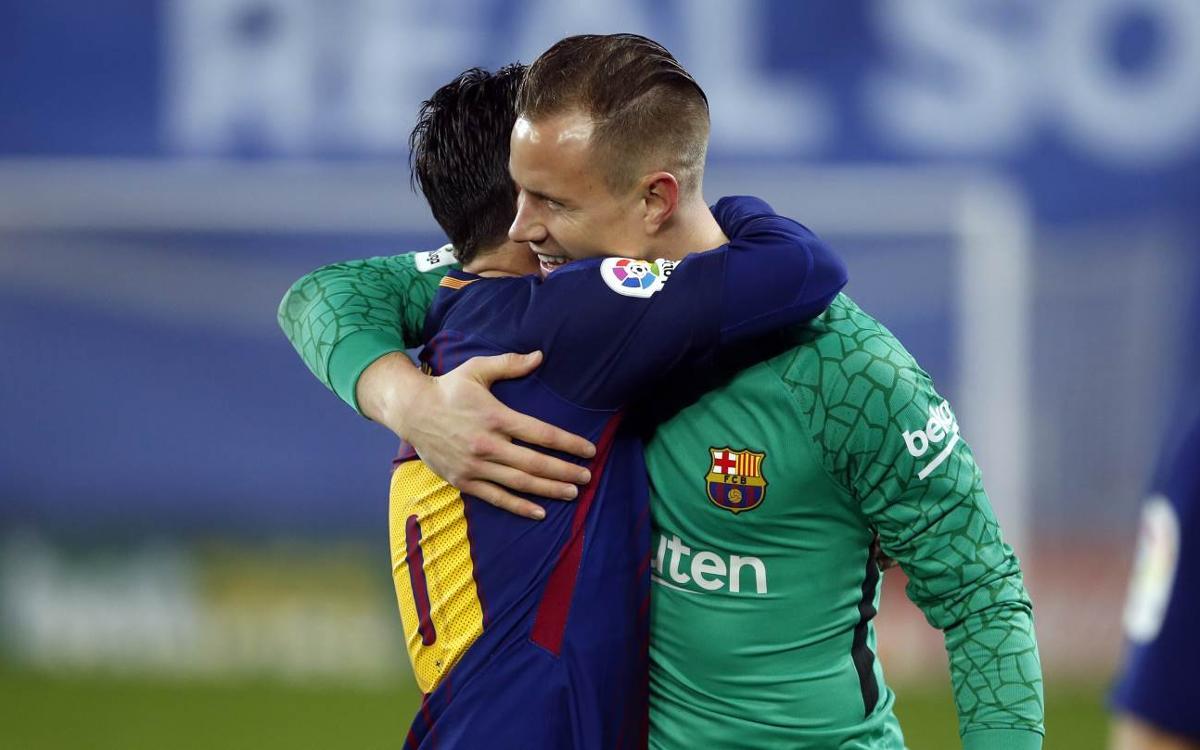 El Barça, el único invicto de las principales ligas europeas